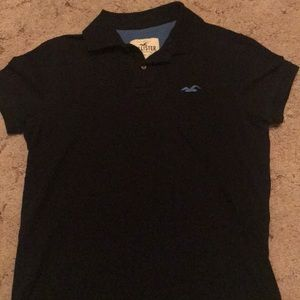 Hollister polo black small